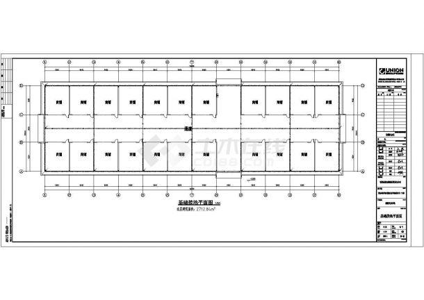 某地区粮油交易市场电气系统方案设计施工CAD图纸-图二