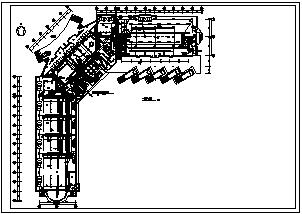 某十层交通大厦电气施工cad图(含消防设计)-图一
