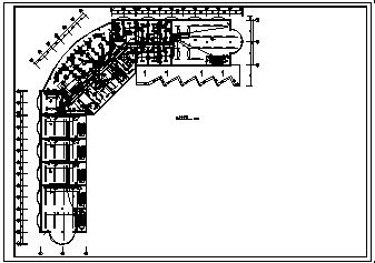 某十层交通大厦电气施工cad图(含消防设计)-图二