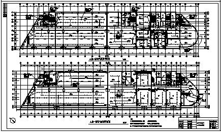 某地上十三层带地下一层商务楼全套电气施工cad图(含变配电,照明,电话系统设计)-图一