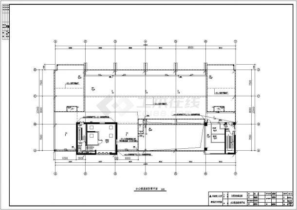 电气设计_某高层商住楼电气全套CAD图-图一