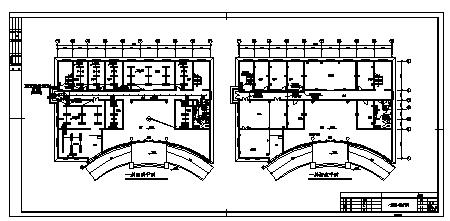 1000平米某二层食品公司办公楼电气施工cad图(含照明系统、防雷接地系统设计)-图一
