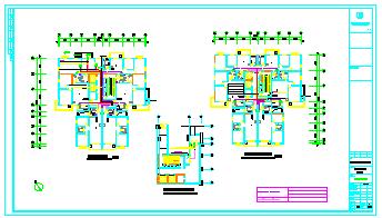 高层住宅楼建筑全套电气cad施工图纸-图二