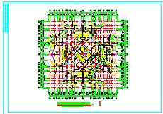 高层住宅楼整套cad设计建筑施工图-图二