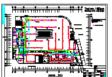 酒店电气设计cad方案施工图-图一
