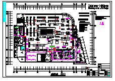 酒店电气设计cad方案施工图-图二