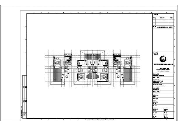 某城市类独栋别墅建筑户型设计施工CAD图纸-图一