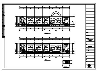 某三层市永初监管仓办公楼电气施工cad图(含照明,弱电设计)-图一
