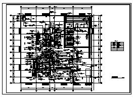 某厂房单层车间电气施工cad图(含动力、照明供配电系统,防雷与接地系统设计)-图二