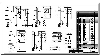 某锅炉房全套电气施工cad图(含电动,照明设计)-图二