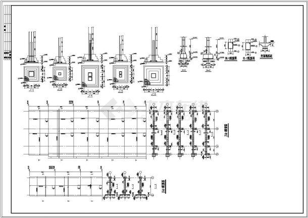 某住宅楼全套框架结构设计图纸-图一