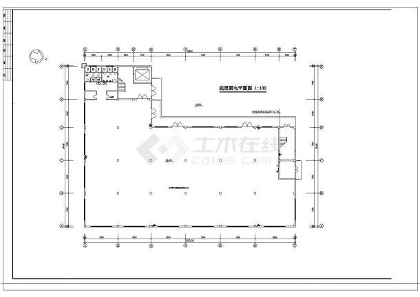 某五层厂房电气设计图纸-图一
