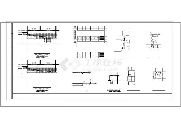 衡阳市海天园小区12层框架结构板式住宅楼建筑设计CAD图纸(含地下室)-图二