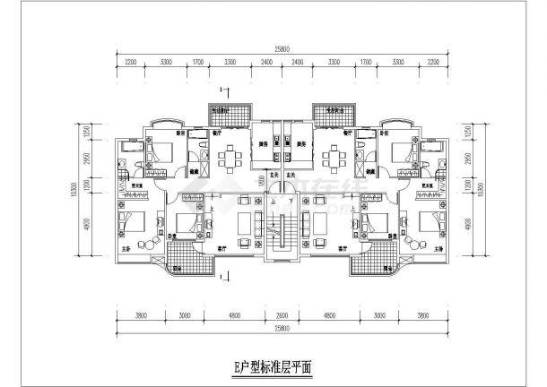 荆州市海悦花园小区经典热门的平面户型设计CAD图纸(共14张)-图一