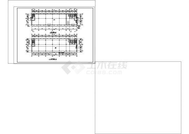 某九层酒店建筑专业cad图纸设计(含平面图)-图一