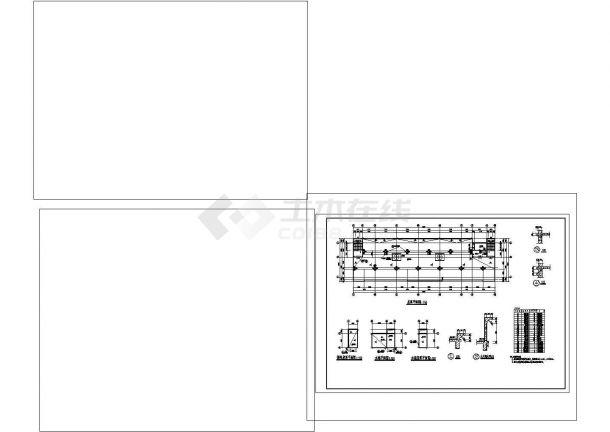 某九层酒店建筑专业cad图纸设计(含平面图)-图二