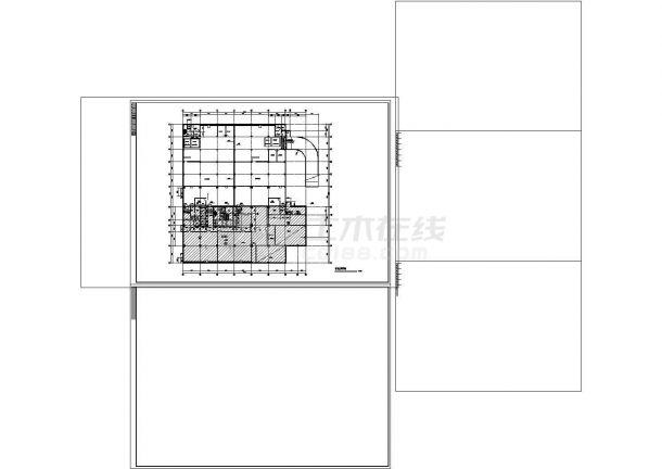 -1+18层商务酒店建筑施工cad图纸设计-图二