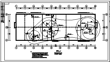 某市科研楼厂房电气施工cad图(含照明,弱电设计)-图二