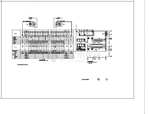苏州某3套酒店电气设计施工cad图纸-图二