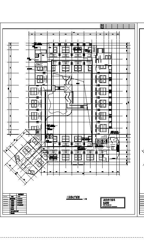 2套四星级宾馆弱电系统设计施工cad图纸-图二
