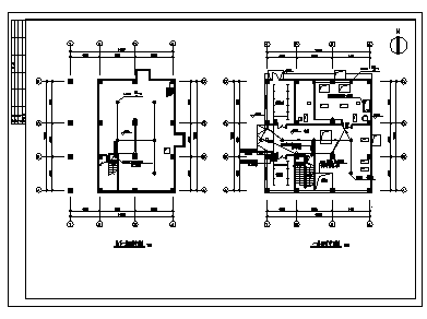 某市五层带地下室饲料厂房电气施工cad图(含照明设计)-图一