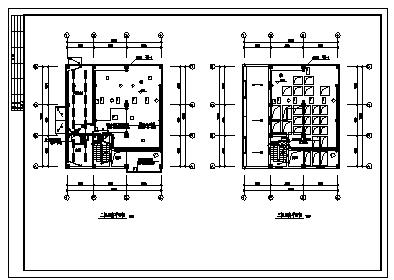 某市五层带地下室饲料厂房电气施工cad图(含照明设计)-图二