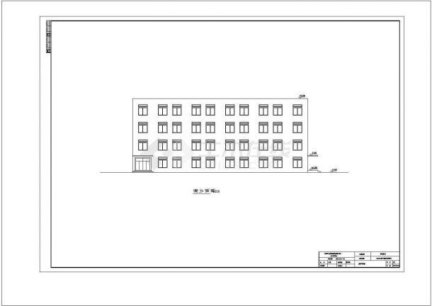 土木工程毕业设计_多套框架结构图书馆钢筋全套毕业设计资料(含说明书、开题报告、施工图)-图一