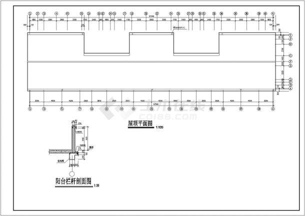 土木工程毕业设计_多套砖混结构住宅楼建筑全套毕业设计资料(含说明书、开题报告、施工图)-图一