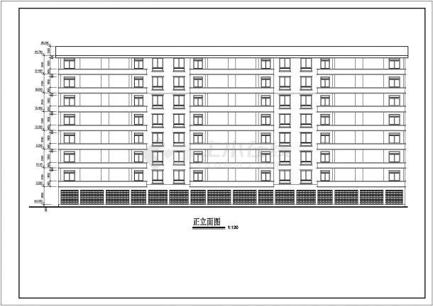 土木工程毕业设计_多套砖混结构住宅楼建筑全套毕业设计资料(含说明书、开题报告、施工图)-图二