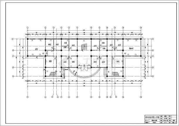 土木工程毕业设计_办公楼设计_多套框架结构办公楼全套毕业设计资料(含说明书、开题报告、施工图)-图二