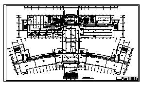 某九层图书信息中心电气施工cad图(含消防设计)-图一