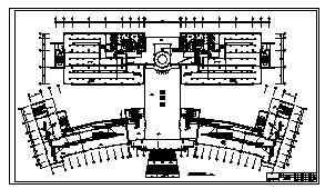 某九层图书信息中心电气施工cad图(含消防设计)-图二