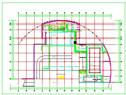 某住宅地下室中央空调全套cad施工设计图纸-图二