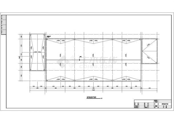 土木工程毕业设计_某地3264平米三层框架教学楼毕业设计(计算书、建筑、结构图)-图二