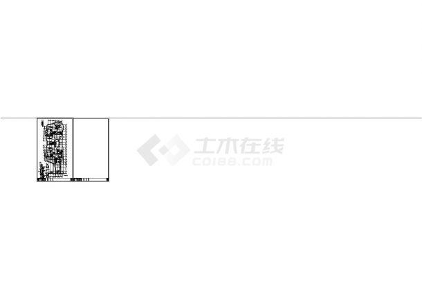 办公楼设计_江苏省某地高层办公楼电气施工全套设计cad图纸-图二