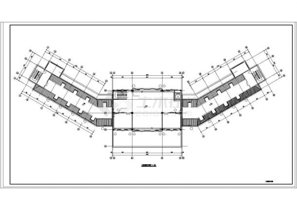办公楼设计_【山东】某三层办公楼采暖系统设计cad图纸(市政集中供热)-图二