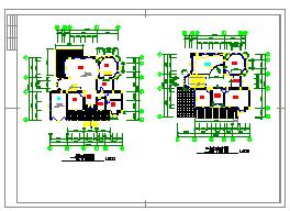 一套别墅的建筑设计方案施工图-图一