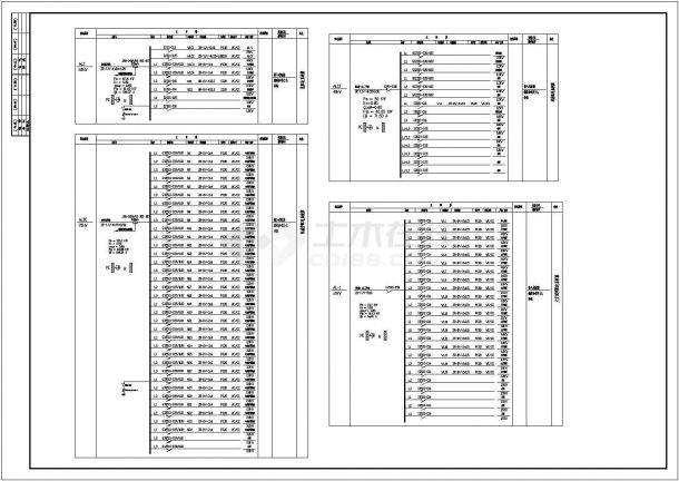 某火锅连锁店室内装修CAD全套构造完整图纸-图一