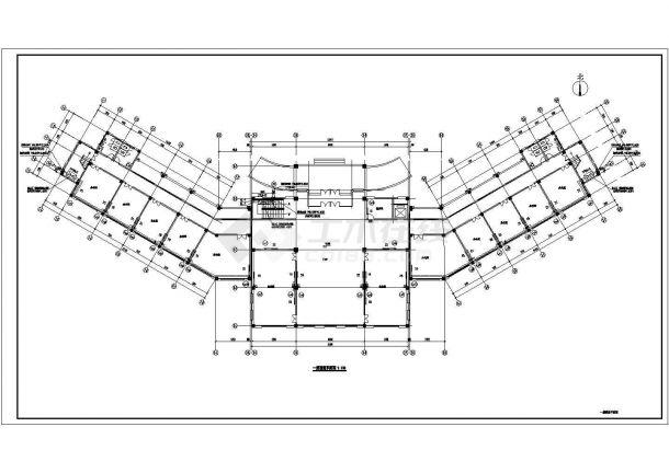 办公楼设计_某三层办公楼采暖系统(市政集中供热)设计cad全套施工图(含设计说明)-图二