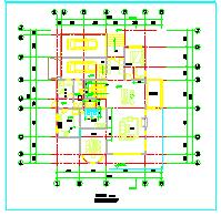 小别墅建筑设计CAD平面图-图二