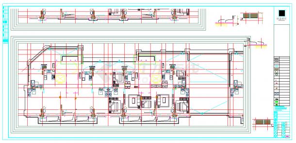某楼装配式建筑设计CAD图-图一