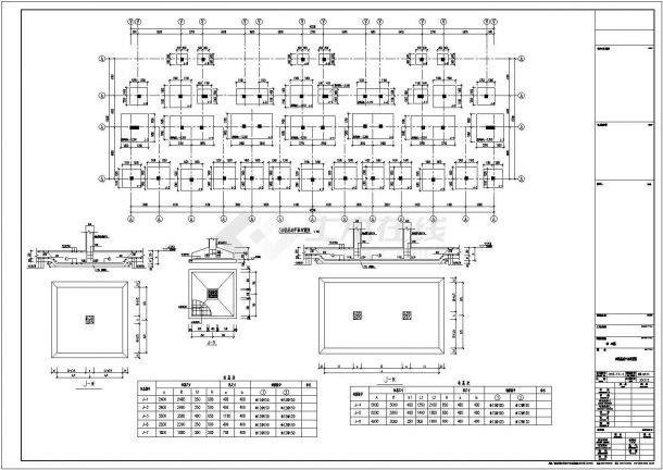 [常州]某五层框架结构住宅楼设计cad全套建筑施工图(含设计说明,含结构设计)-图一