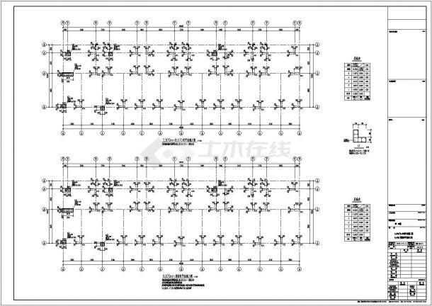 [常州]某五层框架结构住宅楼设计cad全套建筑施工图(含设计说明,含结构设计)-图二