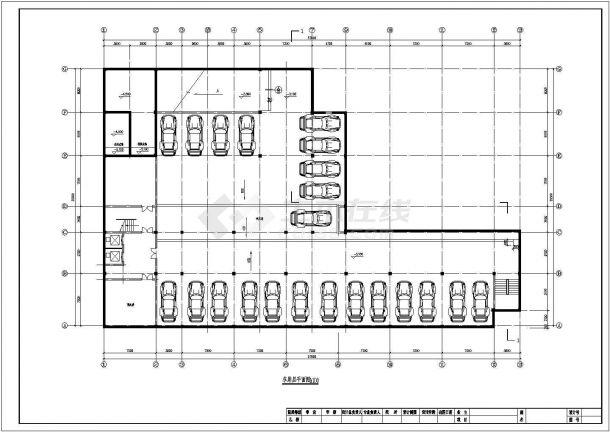 商务旅馆建筑设计方案图-图一