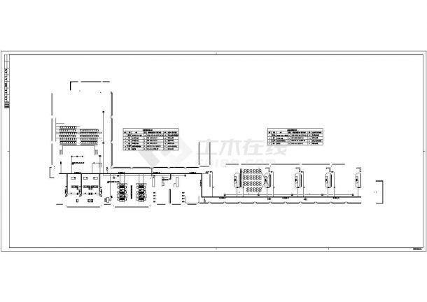 [浙江]某小学弱电系统设计cad全套施工图纸(含设计说明,含教学楼、综合楼、图书楼及校门等设计)-图一