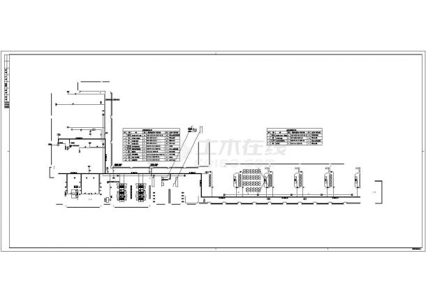 [浙江]某小学弱电系统设计cad全套施工图纸(含设计说明,含教学楼、综合楼、图书楼及校门等设计)-图二