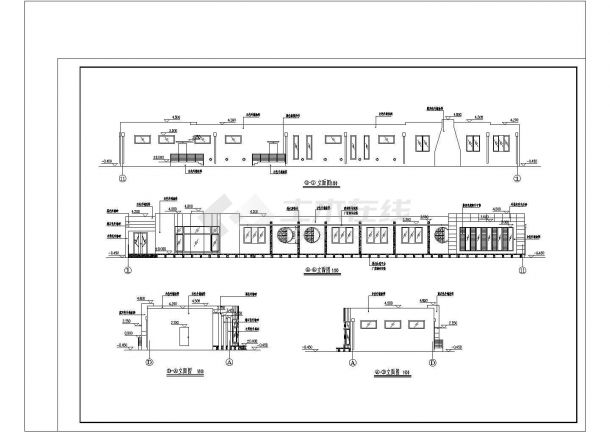 某二层实用型别墅建筑给排水施工图-图一
