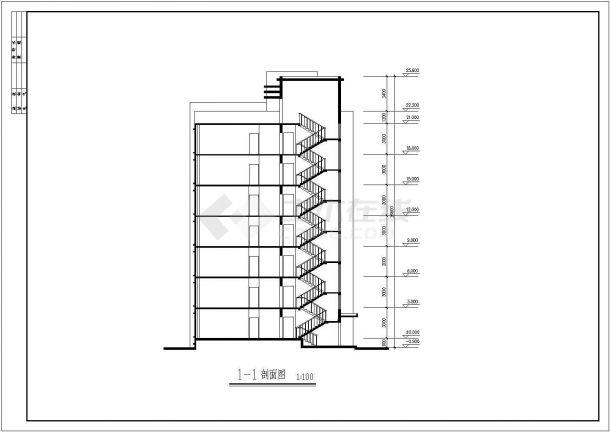 集资房建筑设计方案图纸-图二