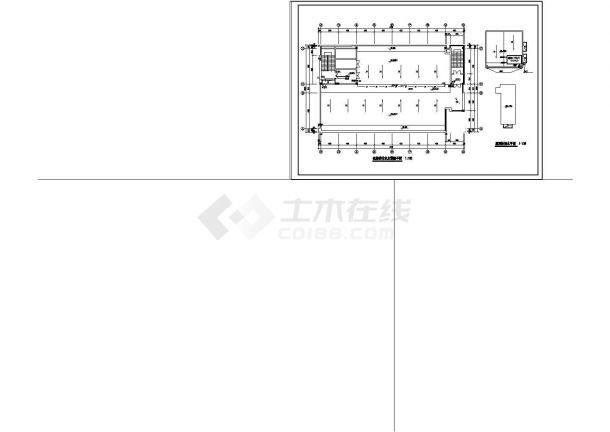 办公楼设计_某地区高层办公楼给排水设计cad施工图-图二