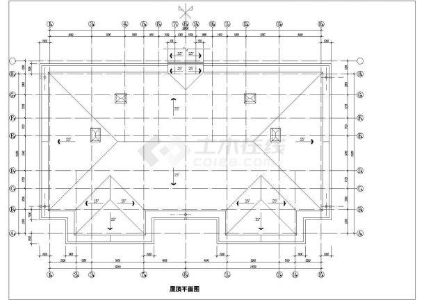 酒店式公寓建筑设计方案图纸-图二